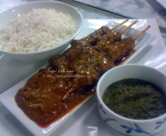 LAMB / MUTTON HUSSAINY CURRY OR STICK CURRY - A old Colonial Dish