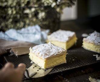 Four Ingredient Vanilla Slice