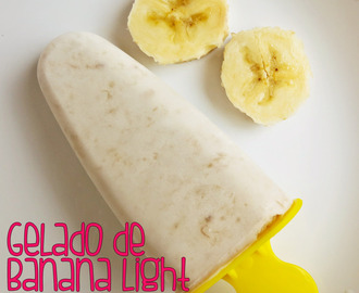Gelado de Banana Light