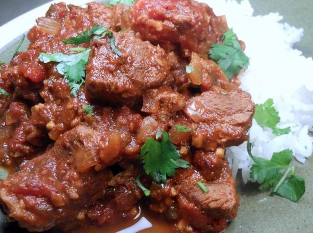 Spicy Indian Beef Curry