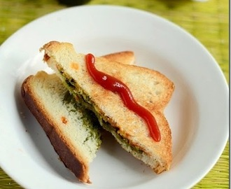 PANEER SANDWICH RECIPE-KIDS LUNCH BOX RECIPES