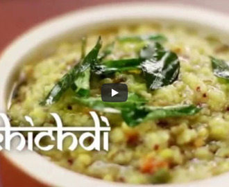 Khichdi Recipe Video