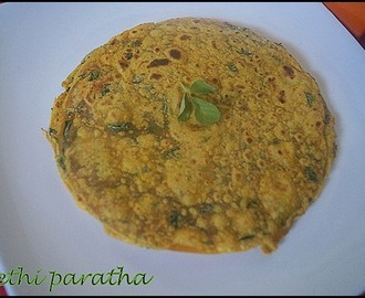 METHI PARATHA/LUNCH BOX IDEA