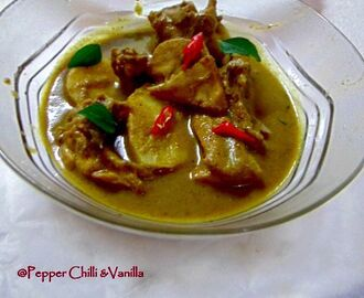 Green Chicken Curry/Chicken Green Curry Recipe.
