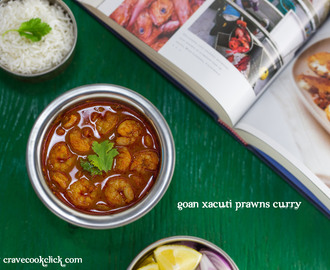 Goan Xacuti Prawns Curry Recipe