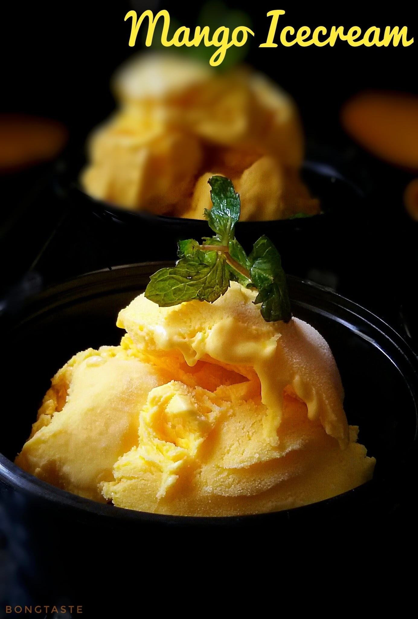 Mango Icecream ( Without Icecream Maker)