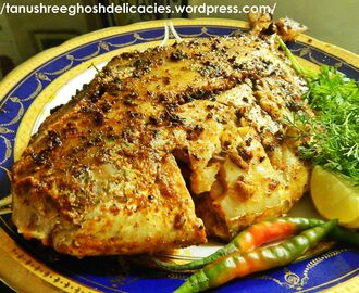 Tawa Fried Pomfret