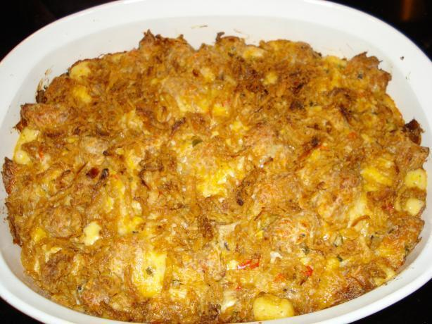 Opie's Cheesy Tater Tot Casserole
