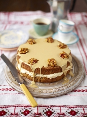 The best coffee & walnut cake