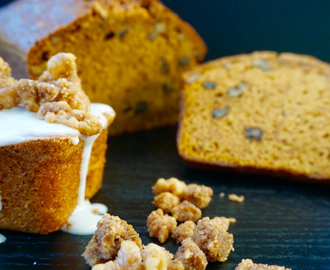 Pumpkin Bread With Caramelized Walnuts