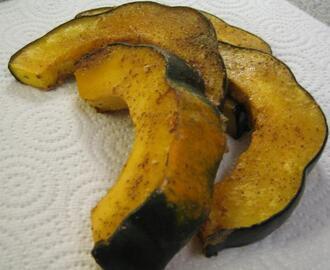 Roasted and Glazed Acorn Squash (Fat-Free)