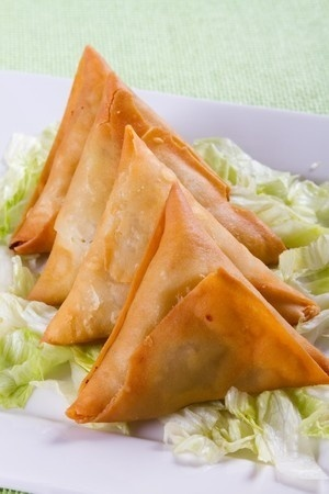 Samosa, alternativet til fredags tacoen.