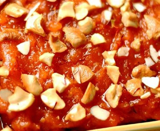 Strawberry Halwa Recipe delicious Indian sweet recipe