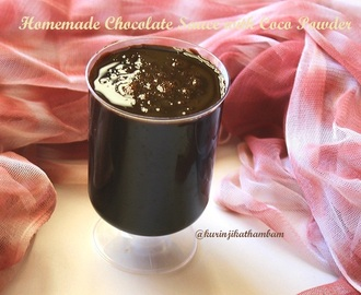 Chocolate Sauce with Coco Powder