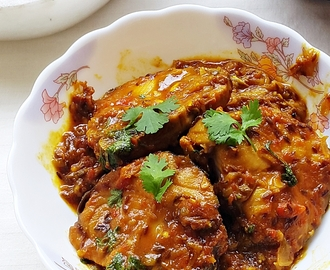 Tamarind king fish curry – king fish (surmai) in tamarind sauce