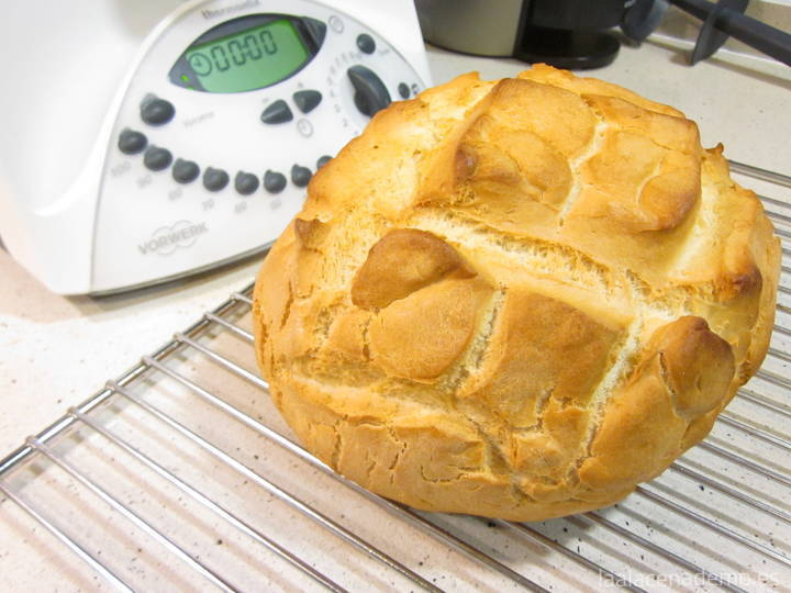 Pan rápido Thermomix
