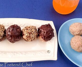 Tigernut Energy Balls - The Pretend Chef