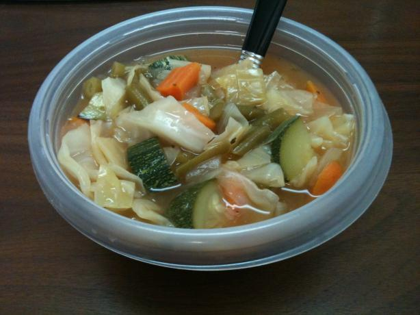 Weight Watchers 0 Point Garden Vegetable Soup