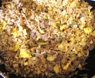 Sue's Sesame Fried Rice