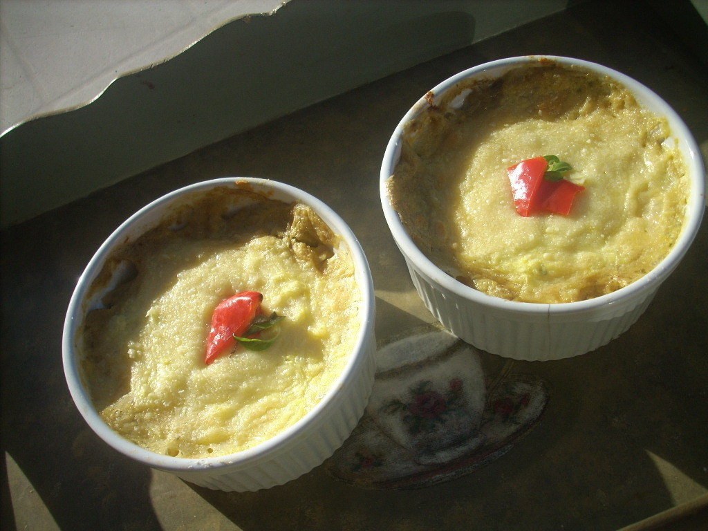 Quinoa and corn pudding (budín de quinoa y choclo)