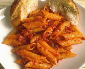 Recipe Of Penne Arrabiata | How To Make Pasta In Red Sauce