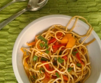Recipe of Chinese Vegetable Noodles | How to Make Chinese Vegetable Noodles
