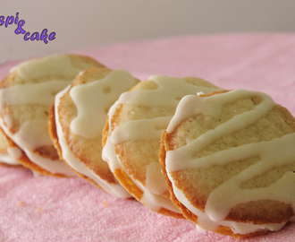 Galletas de limón rellenas de Cream Cheese