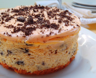 OREO CHEESECAKE (CON BASE DE BROWNIE)