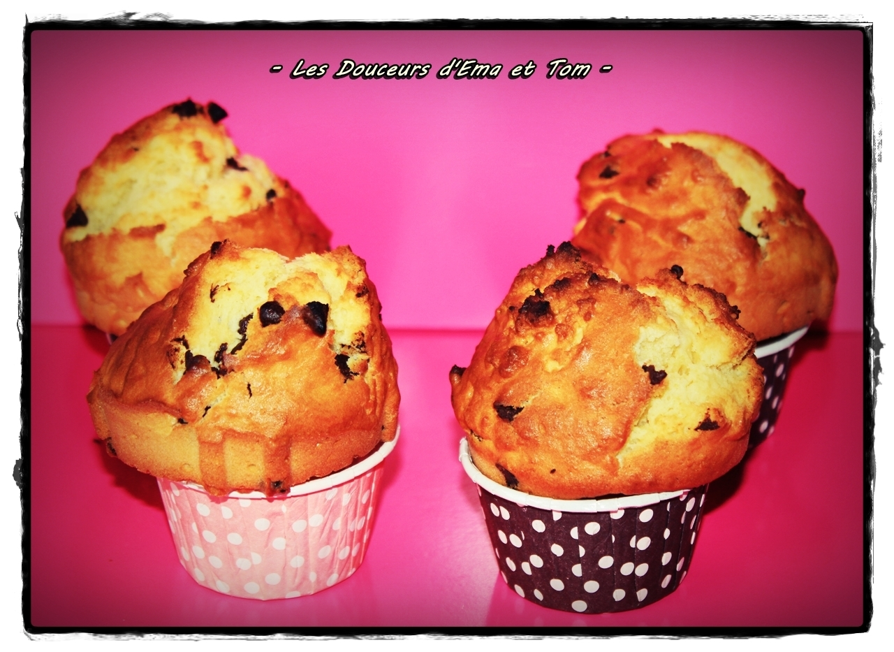 Muffins façon cookies