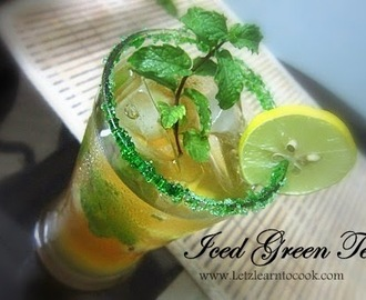 Iced Green Tea/Green Tea Lemonade