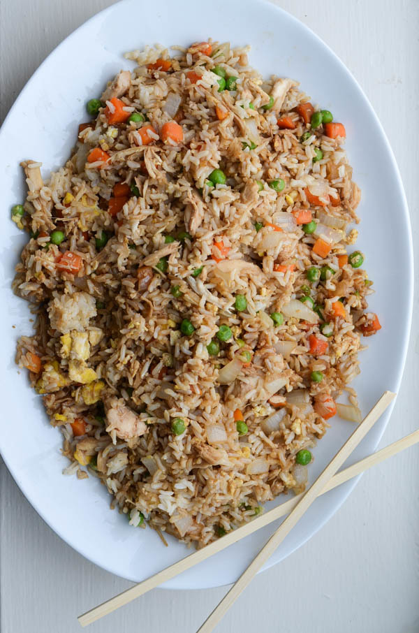 """Chicken Fried Rice Recipe..."""