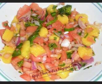 Super Simple Home Made Mango Salsa Recipe