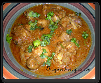 (Pressure Cooker) Chicken Curry