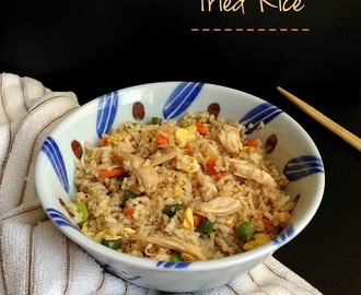 Better than take-out Chicken Fried Rice | Leftover recipes