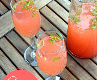 Guava Mint Mimosa | Summer Drinks
