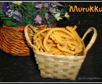 Murukku Recipe / Easy Murukku Recipe / Pottukadalai Murukku / Roasted Gram Dal Murukku Recipe / Crispy Murukku Recipe / Diwali snack recipe