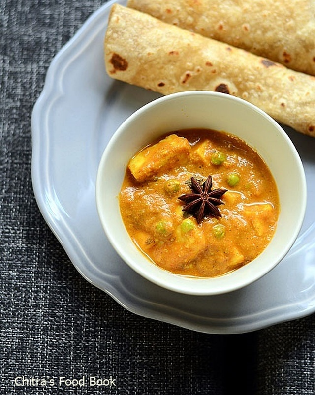 Matar Paneer Recipe-Paneer Recipes