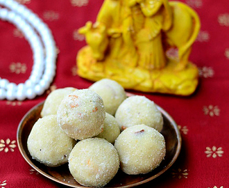 Aval Ladoo/Poha Laddu Recipe-Easy Gokulashtami Recipes