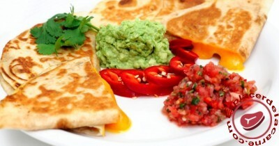 Deliciosas quesadillas mexicanas
