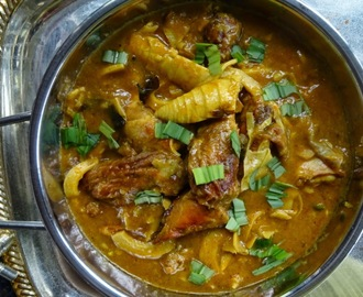 Smoked Chicken & Bamboo Shoot Curry