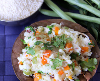Samai Upma - Little Millet Upma - Healthy breakfast recipe
