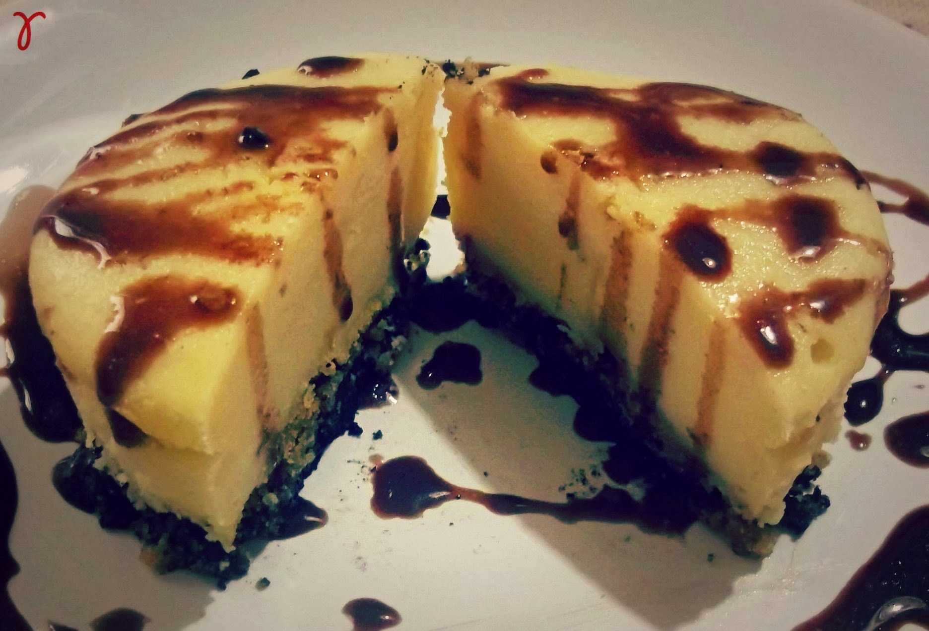 Double New York Cheesecake