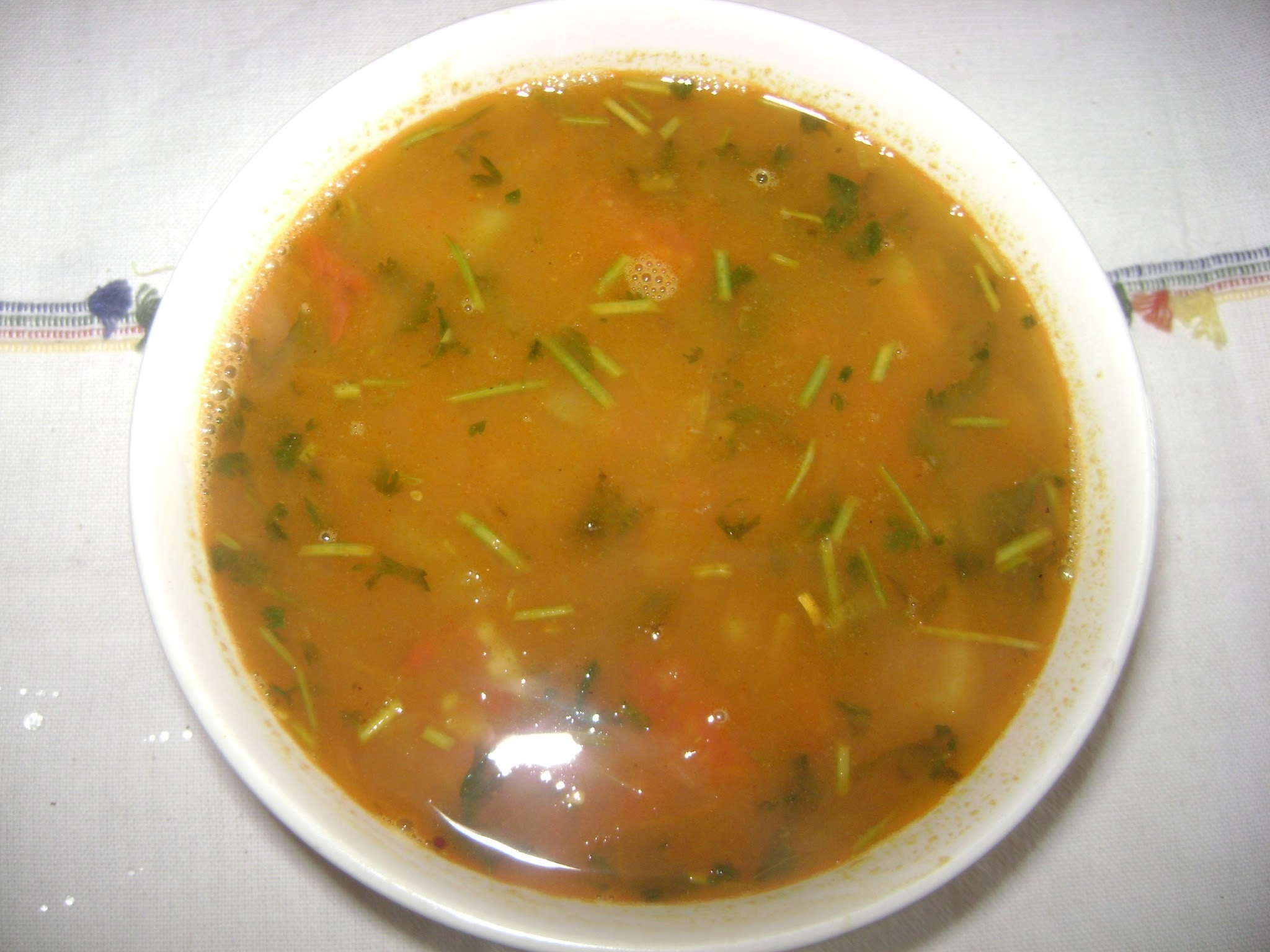 Green gram dal rasam / The South Indian Soup. (Maami's Corner)