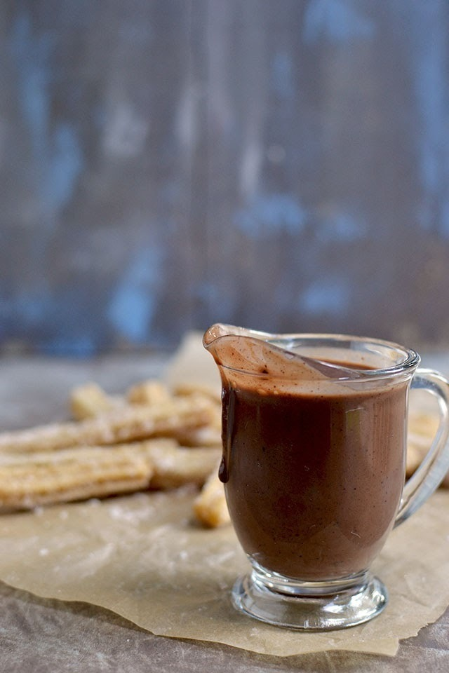 Chocolate Para Churros (Chocolate sauce for Churros - Vegan recipe)