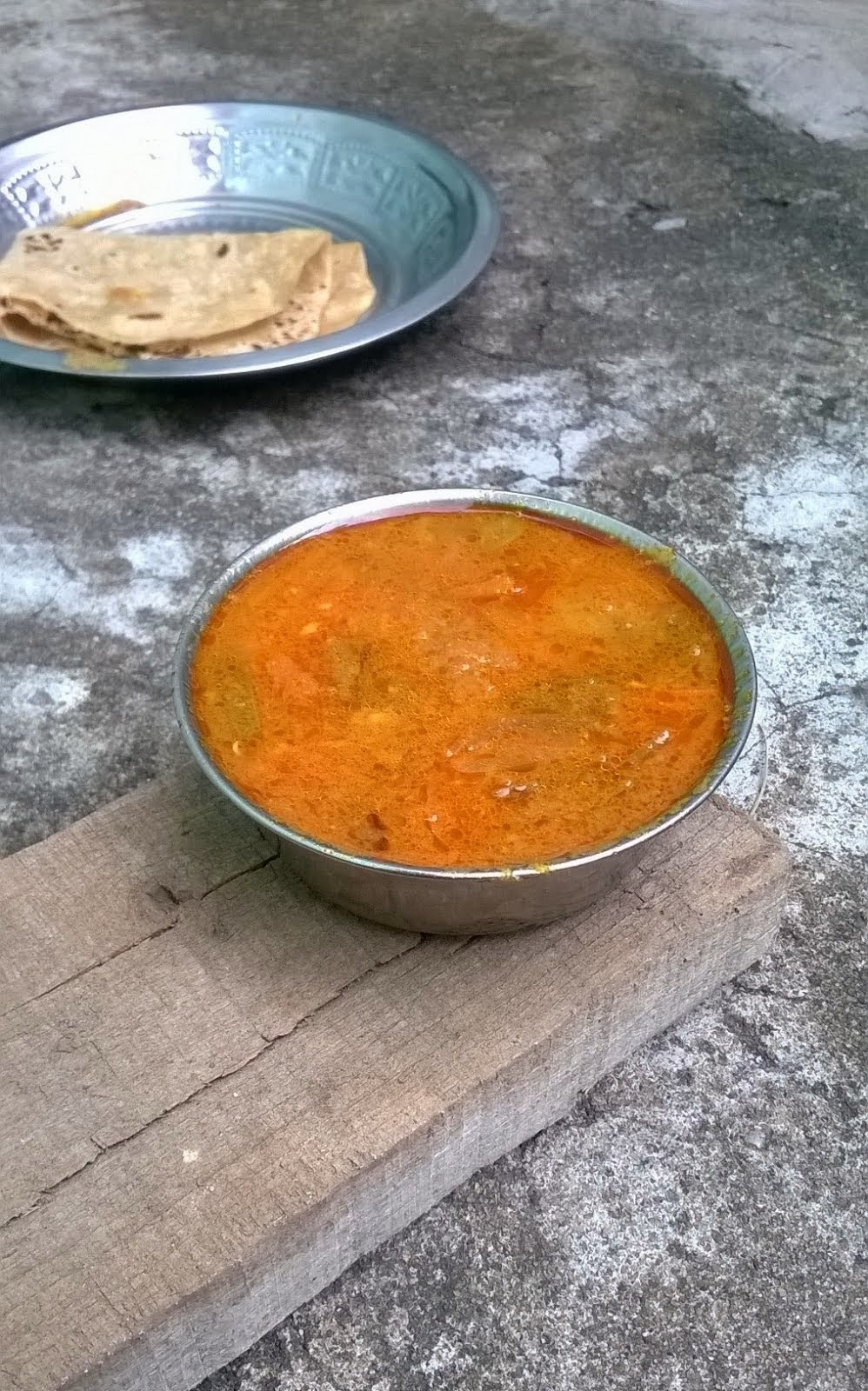 Carrot Capsicum Curry