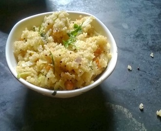 Broken Wheat Upma | Breakfast Recipes