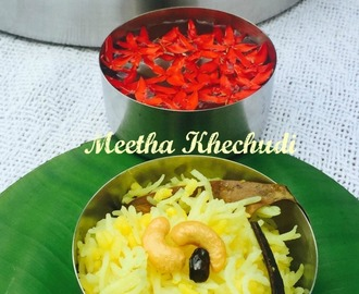 Meetha Khechudi from Odhisi Cuisine