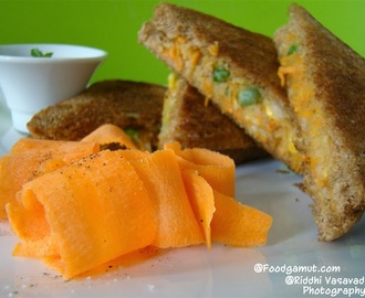 Potato carrot sandwich