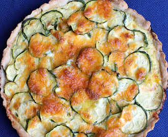 Quiche de zapallo italiano