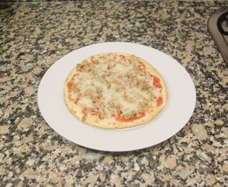 "Pizzetes amb ""tortillas"" mexicanes"